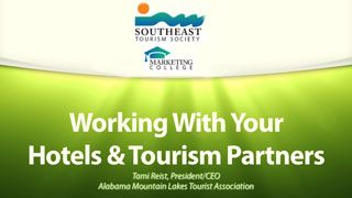 Working With Your Hotels & Tourism Partners
